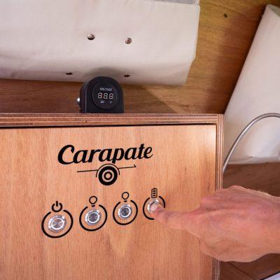 Carapate Aventure - Tableau électrique