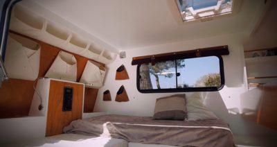 Tous les détails techniques de la mini-caravane Carapate