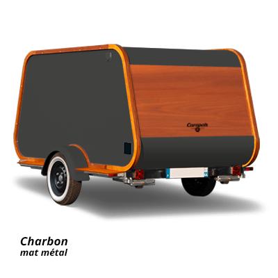 Carapate Aventure - Modèle Carriole - couleur charbon