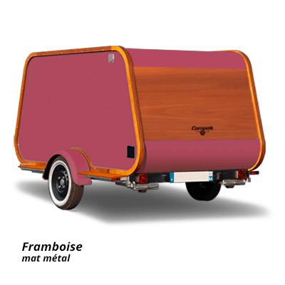 Carapate Aventure - Modèle Carriole - couleur framboise