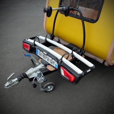 Carapate Aventure - Mini Caravane avec porte vélo