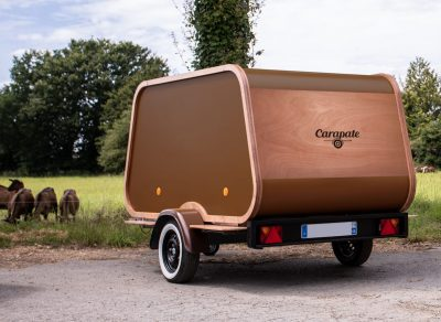 mini-caravane teardrop pas chère, la Carriole