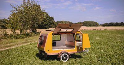 Mini-Caravane Tear Drop La Carapate