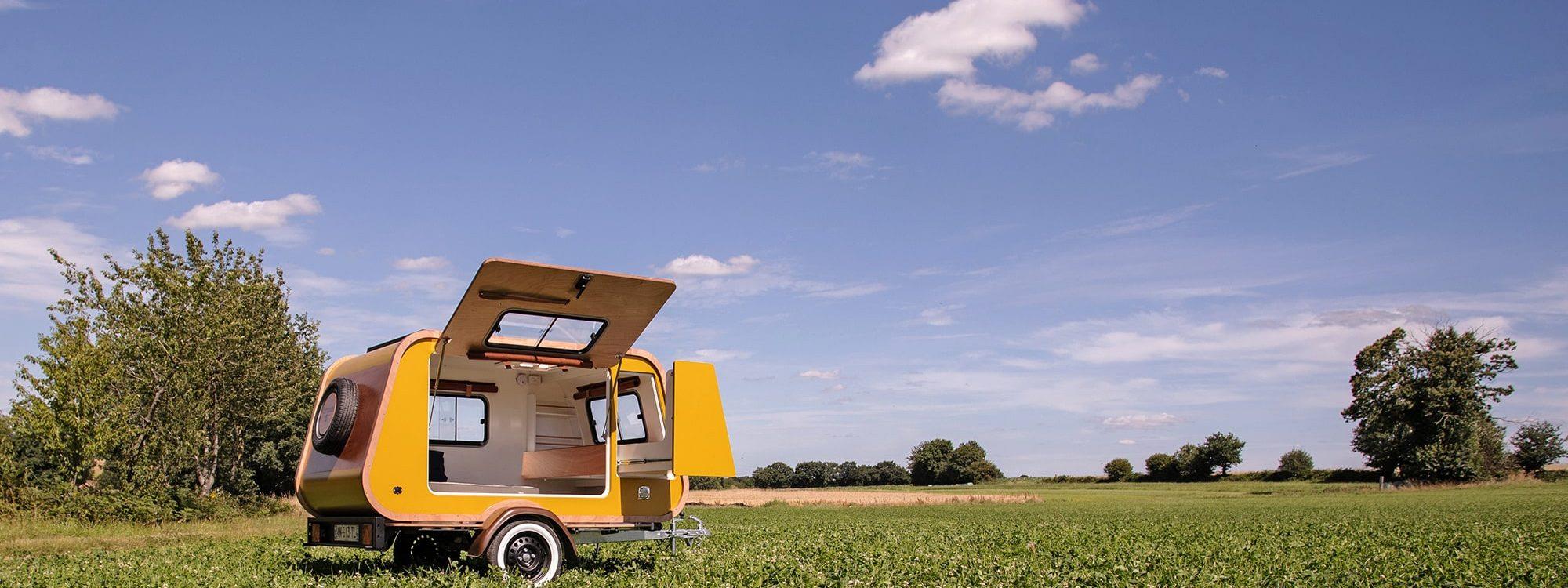 Carapate aventure : Tear Drop Mini Caravane